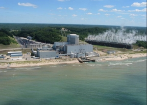 Palisades Nuclear Power Plant on Lake Michigan. (Photo courtesy U.S. Nuclear Regulatory Commission)