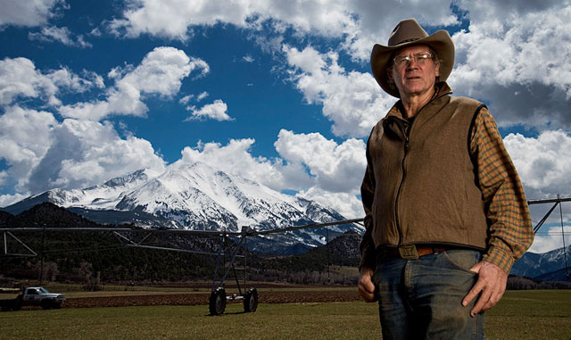 Colorado rancher Jock Jacober (Photo by David Clifford)