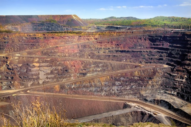 The Empire Mine. (Photo courtesy of Cliffs Natural Resources)