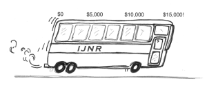 Help us fill the bus by the end of 2013!
