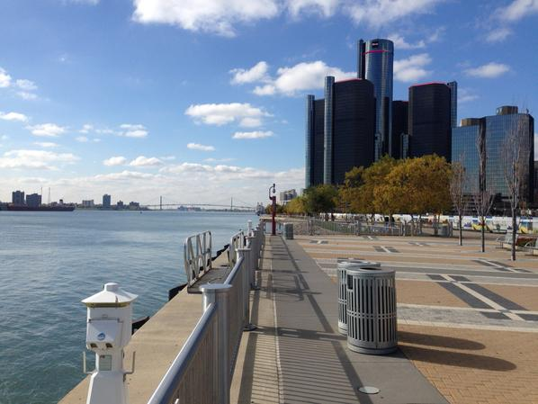 Detroit River pic day 1