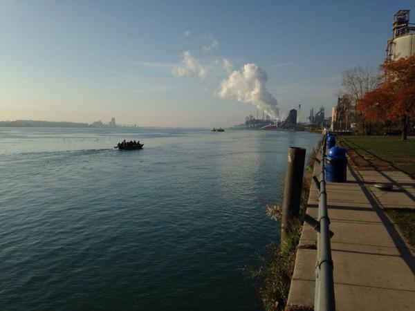 Detroit River pic day 2
